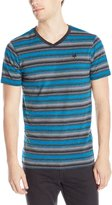 Zoo York Men's Short Sleeve Flipside V Neck Knit Top