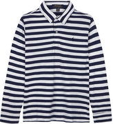 Ralph Lauren Striped long-sleeve polo shirt 7-14 years