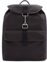 A.P.C. Navy Chris Backpack