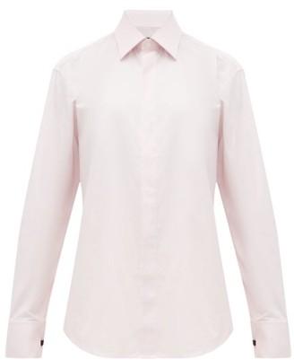 Emma Willis Selva French-cuff Cotton Shirt - Womens - Pink