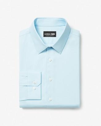 Express Classic Solid Stretch Cotton 1Mx Dress Shirt
