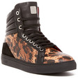 mcm sophisticated high top sneaker