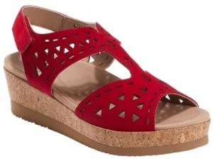 Earth Women's Buran Rosa Cork Platform Sandal Women's Shoes