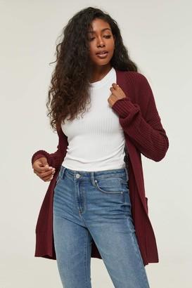 Ardene Open Knit Cardigan