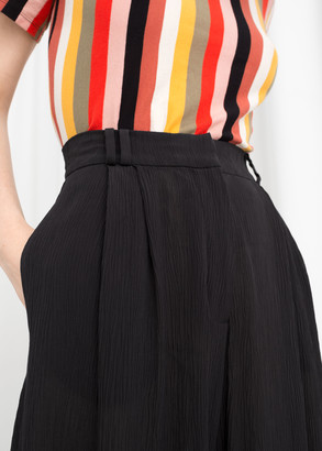 And other stories High Waisted Wide Pants
