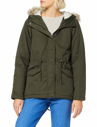 Only Women's Onlruby Short Parka Cc OTW