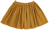 Bonton Magenta Velvet Skirt