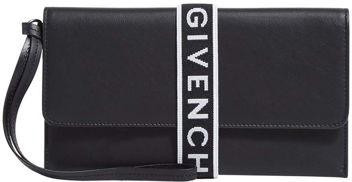 Givenchy Leather Logo Pouch