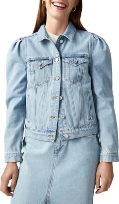Scotch & Soda Amsterdam Blauw Organic Cotton Denim Trucker Jacket