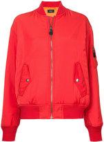 G.V.G.V. zipped bomber jacket