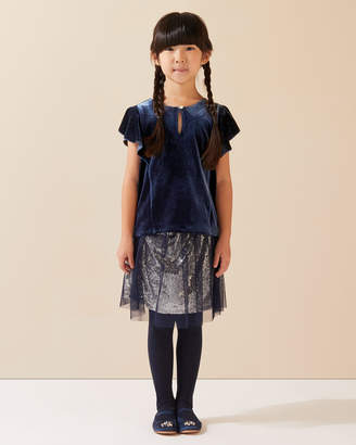 Jigsaw Tulle Sequin Party Skirt