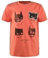 Ikks Orange Mask Print Tee