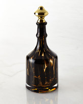 Oscar de la Renta Tortoise Bottle Decanter