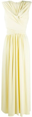 Isabel Marant twisted-waist gathered A-line dress