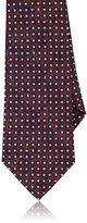 Isaia Men's Abstract-Dot-Pattern Necktie-RED