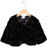 Zoe Girls' Faux Fur Bolero