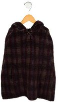 Bonpoint Girls' Wool Poncho