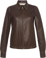 Marni Fitted Leather Jacket