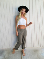 Tysa Wrap Pant In Olive