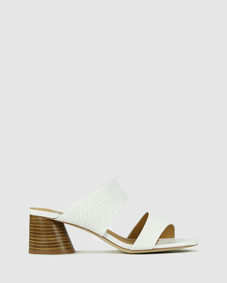 EOS Women's White Strappy sandals - Peta - Size One Size, 38 at The Iconic