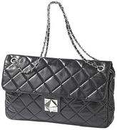 Diamond-Quilted Bag