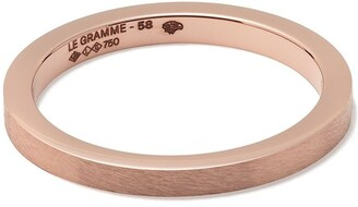 Le Gramme 18kt Red Gold 5g Band Ring