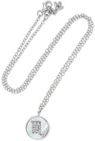 Carolina Bucci Scorpio Lucky 18-karat White Gold Multi-stone Necklace - one size