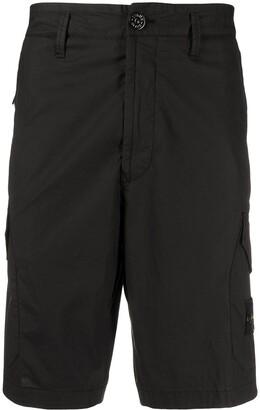 Stone Island Logo Patch Shorts
