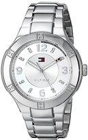 Tommy Hilfiger Women's 1781447 Analog Display Quartz Silver Watch