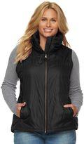 Columbia Plus Size Melting Mogul Fleece-Lined Vest