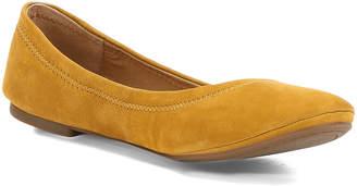 Lucky Brand Women's Ballet Flats OCHRE - Ochre Emmie Leather Flat - Women