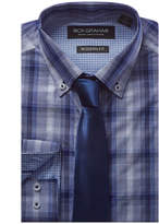 Nick Graham 2Pc Modern Fit Dress Shirt & Tie Set