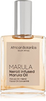 African Botanics Neroli Infused Marula Oil, 60ml - one size