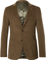 Officine Generale - Brown Cotton-corduroy Suit Jacket