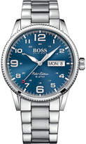 HUGO BOSS 1513329 pilot stainless steel watch