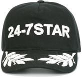 DSQUARED2 24-7 logo baseball cap - men - Cotton - S