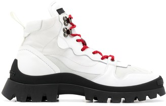 DSQUARED2 Panelled Hiking Boots