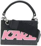 Karl Lagerfeld mini logo box bag