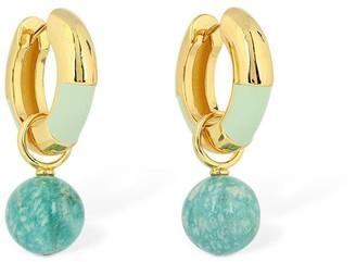 Lizzie Fortunato Life Saver Hoop Earrings