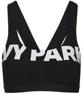 Ivy Park V-back mesh insert bra