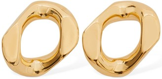 Burberry Chain Link Stud Earrings