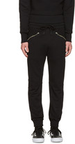 Diesel Black P-Narc Lounge Pants