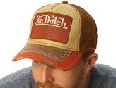 Von Dutch Men's Logo Patch Trucker Hat-One