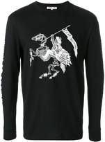 McQ Fear Nothing long sleeve T-shirt