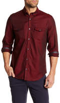 Calvin Klein Herringbone Stitch Button Down Shirt