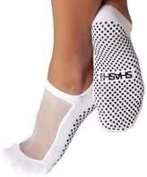 Shashi Mesh Non Slip Ergonomic Socks Pilates Barre Ballet Yoga Dance / 8-10