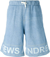 Andrea Crews frayed sweatpants - men - Cotton - L