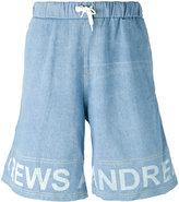 Andrea Crews frayed sweatpants - men - Cotton - S