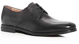 Salvatore Ferragamo Men's Spencer Plain-Toe Leather Oxfords - Narrow
