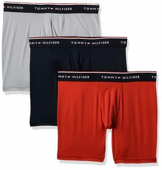 Tommy Hilfiger Men's Underwear Microfiber Multipack Boxer Briefs